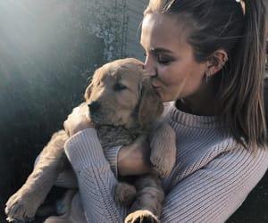josephine skriver, dog, and model image
