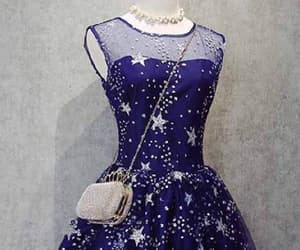 a-line prom dresses and prom dresses blue image