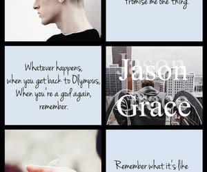 aesthetic, percy jackson, and jason grace image