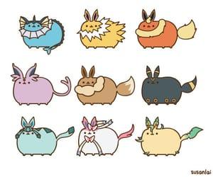 cat, pokemon, and pusheen image
