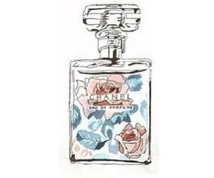 chanel, perfume, and floral image