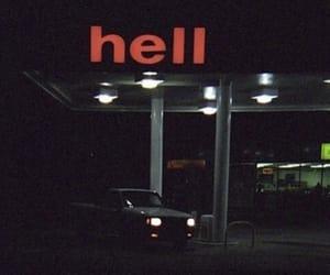hell, dark, and grunge image