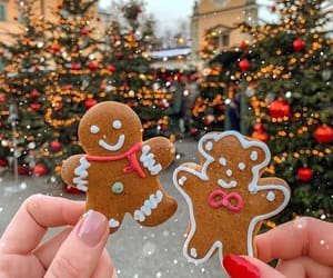christmas, Cookies, and ginger image