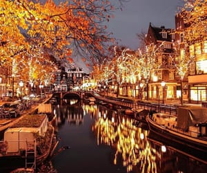 amsterdam, netherlands, and night image