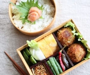 japanese, lunch, and lunch box image