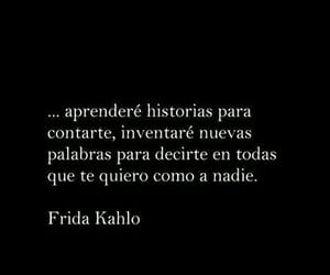 frida kahlo, palabras, and quotes image