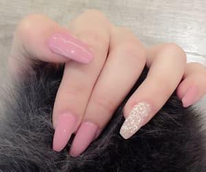 girl, nail polish, and art nail image