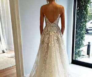 party dress, wedding dresses, and wedding dresses backless image