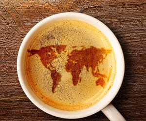 coffee, cup, and world image