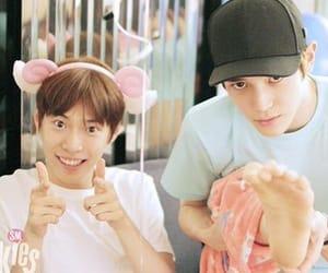 taeyong, kimdoyoung, and smrookies image