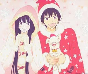 kimi ni todoke, anime, and christmas image
