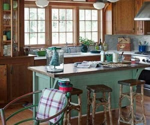 country living, kitchen, and decor image