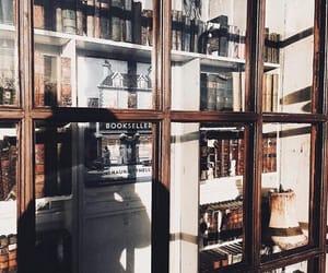 books, reading, and book shelfs image
