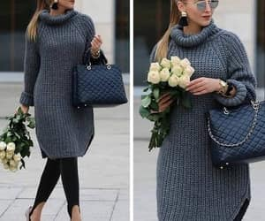 sweater dress image