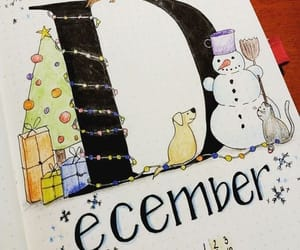 christmas, december, and drawing image