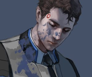art, Connor, and detroit: become human image