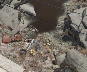 apocalypse, skeleton, and toxic waste image