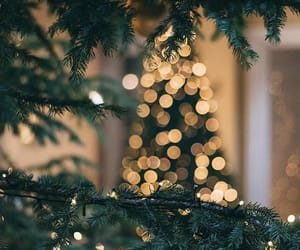 christmas, light, and wallpaper image