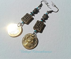 coat of arms, etsy, and handmade jewelry image