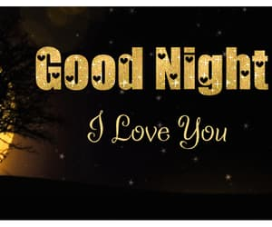 gif, good night, and I Love You image