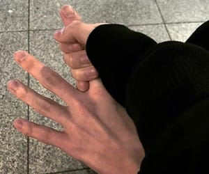 couple, boy, and hands image