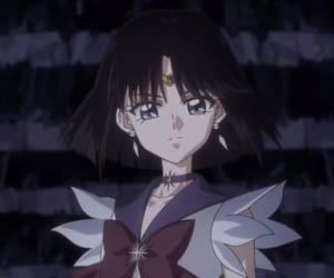 sailor moon, anime, and sailor saturn image