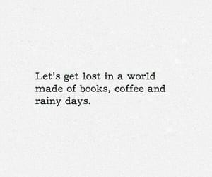 book, quotes, and coffee image