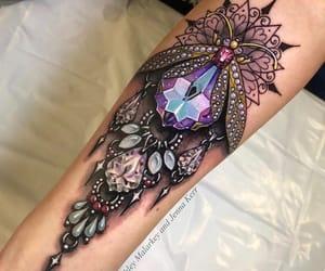 ink, tattoo, and tattoolove image