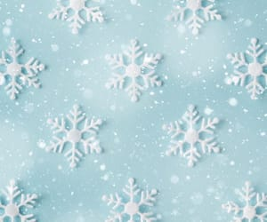 winter and snowflake image