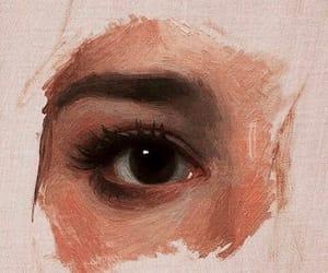 art, eye, and aesthetic image