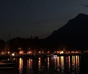 lake, lights, and photography image