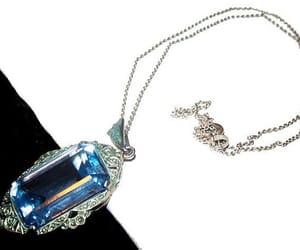 vintage pendant, etsy, and edwardian pendant image