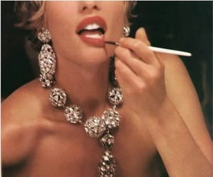 60s, jewelry, and woman image