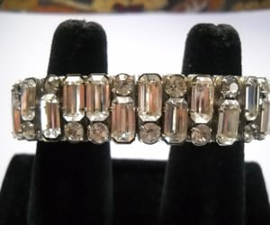 etsy, clear rhinestones, and bling jewelry image