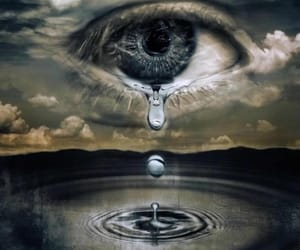 creative, water, and digital manipulation image