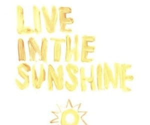 quotes, sun, and yellow image