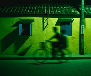 green, bike, and aesthetic image
