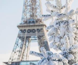 paris and winter image