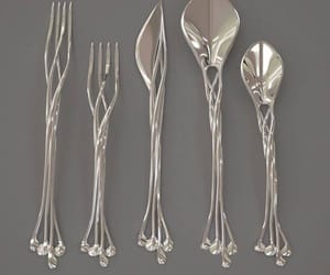 lord of the rings, silverware, and the hobbit image