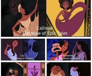 hercules, disney, and muse image