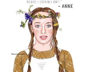anne, art, and drawing image
