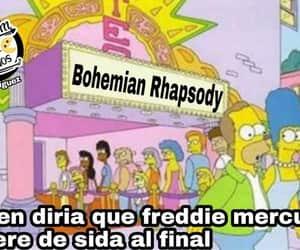 Freddie Mercury, humor, and meme image