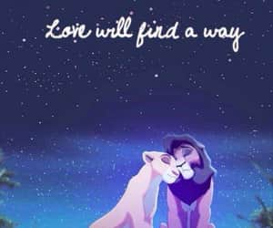 love, disney, and lion king image