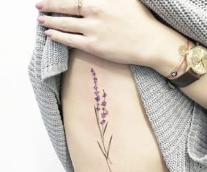 floral, pretty, and pretty tattoo image