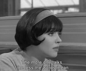 quotes, anna karina, and black and white image