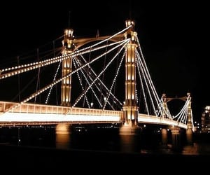 gold, black, and bridge image