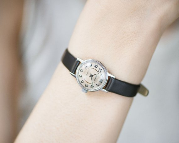 etsy, leather watch, and ladies watch image