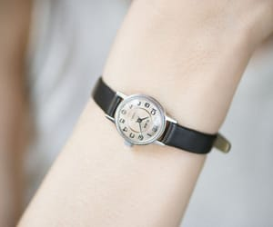 mechanical watch, montre femme, and vintage women watch image