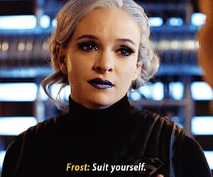 danielle panabaker, crossover, and frost image