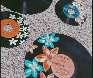 beautiful, flowers, and music image